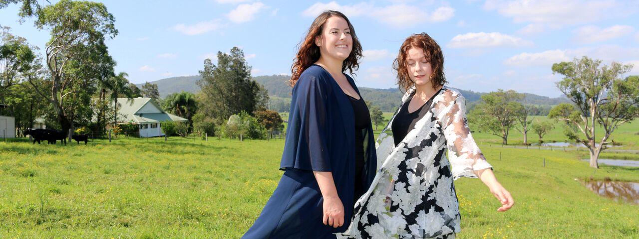 Girls on Farm 2